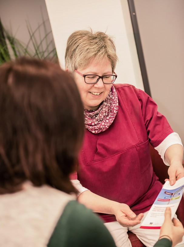Krebs Begleitung Onkolotsin Christine Luppus