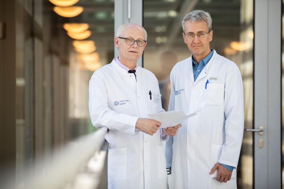 Prof. Dr. Reinhard Büttner und Dr. Jürgen Wolf