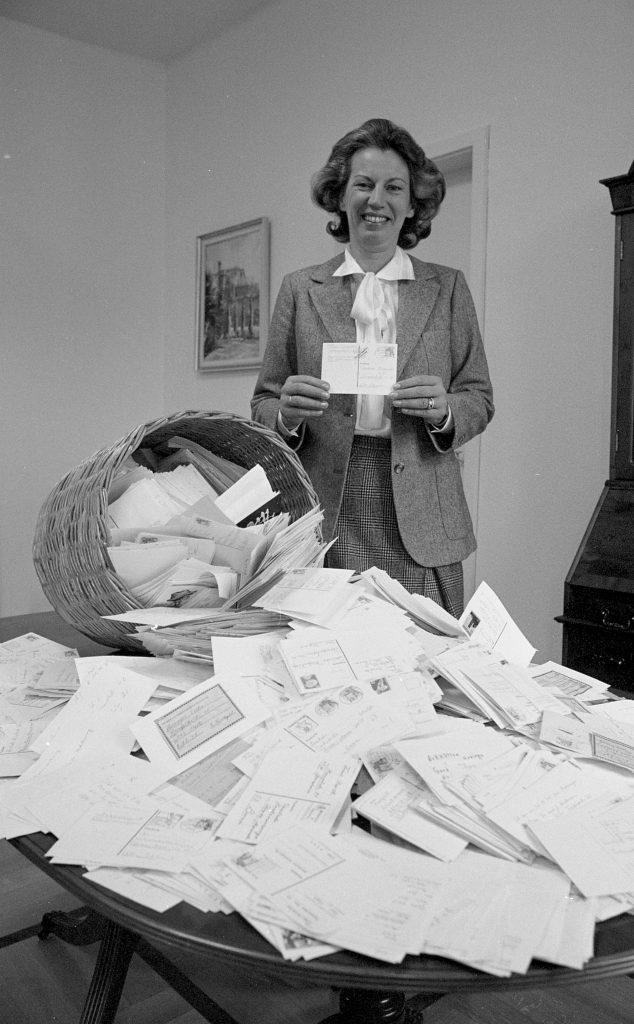 Mildred Scheel - Post an die Deutsche Krebshilfe