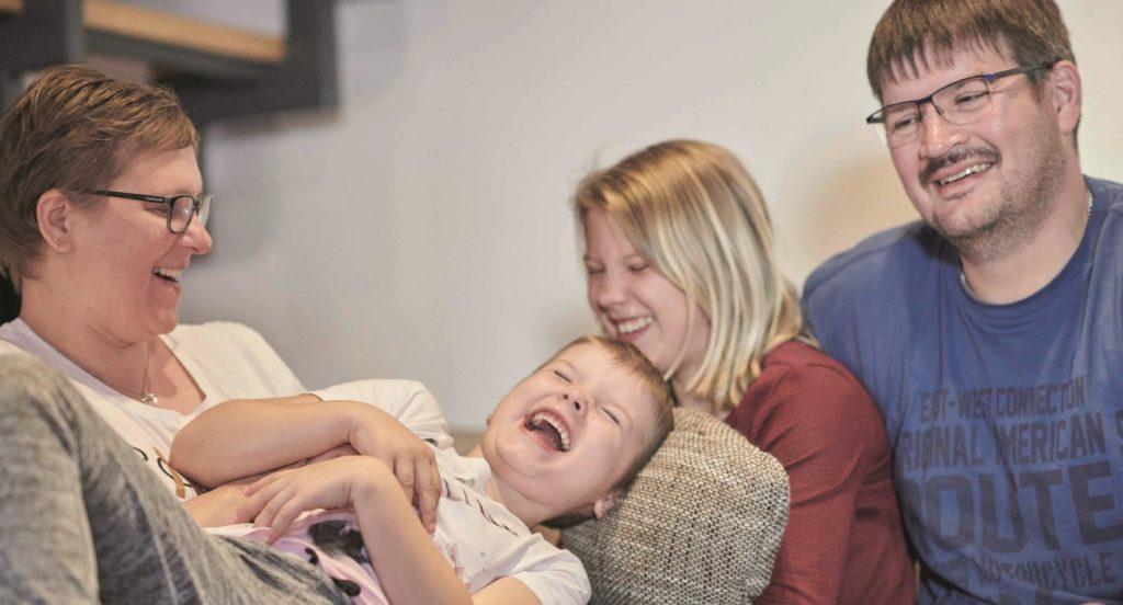 Gemeinsames Lachen tut gut