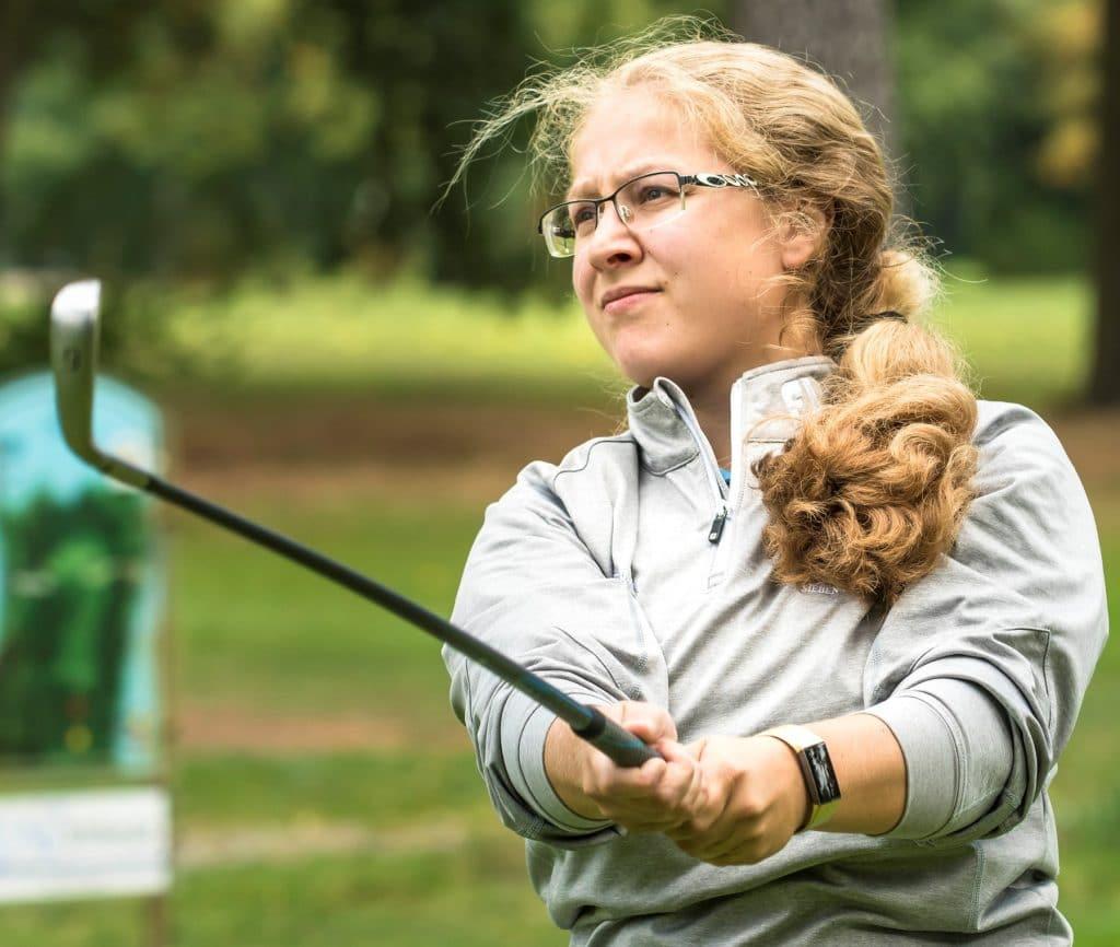 Jasmin Klose_Teilnehmerin Golf-Wettspiele