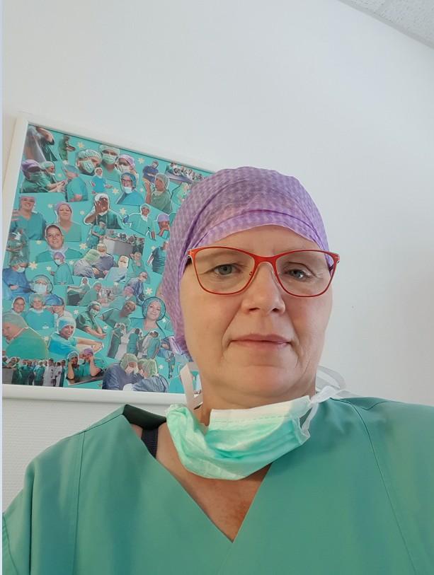 Karin Erfahrungen mit Krebs Krankenschwester