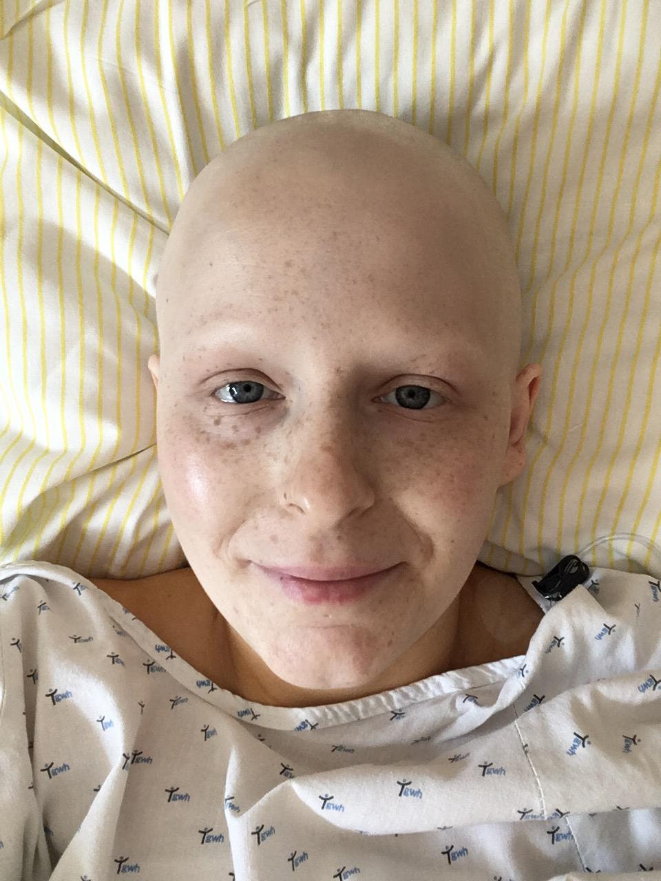 Mandy dokumentiert ihre Therapie