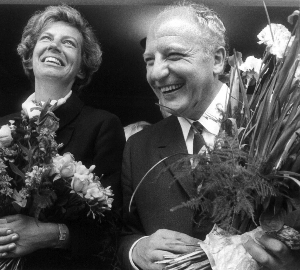 Hochzeit Mildred Scheel und Walter Scheel
