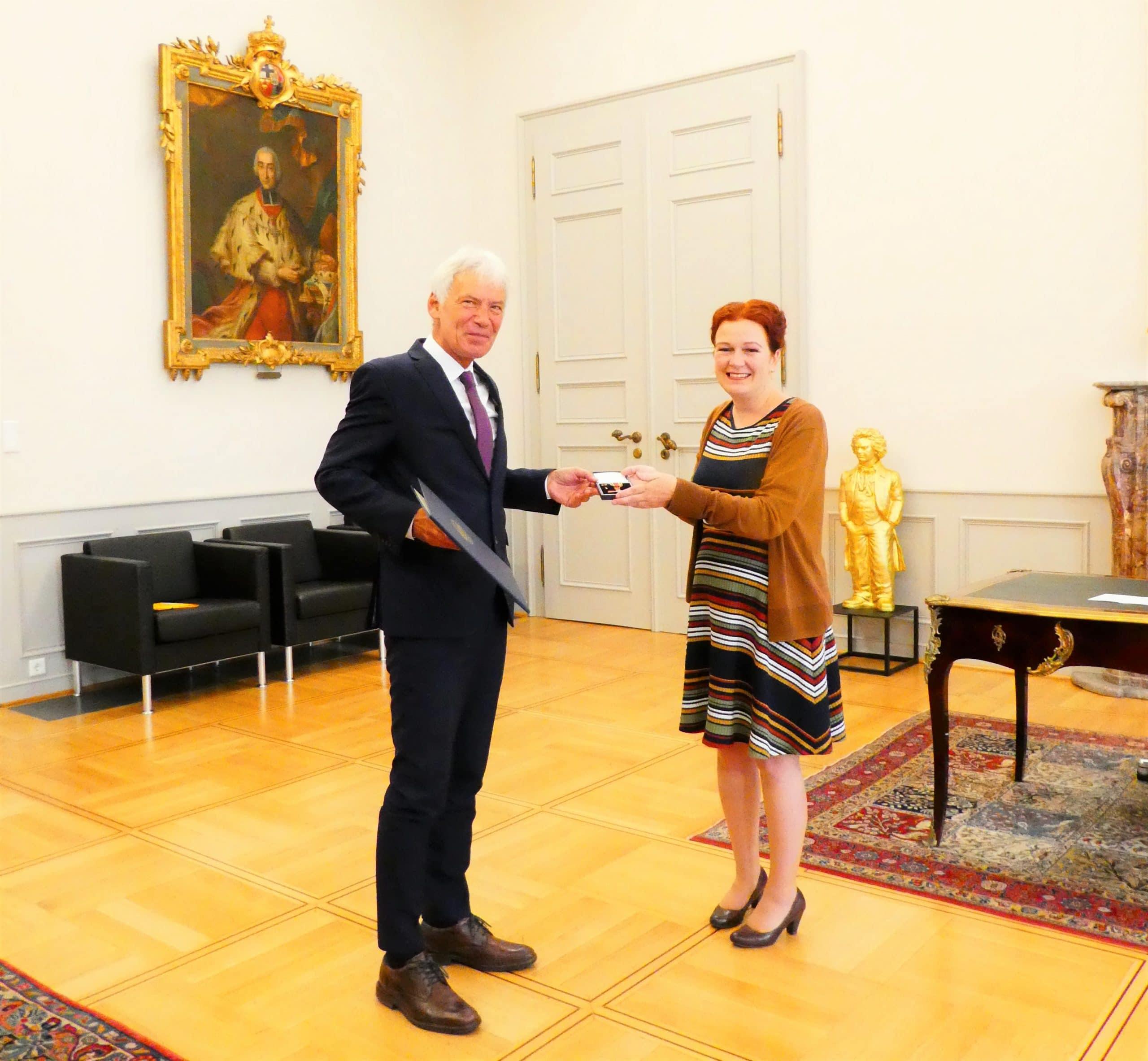 Bundesverdienstkreuz für Gerd Nettekoven
