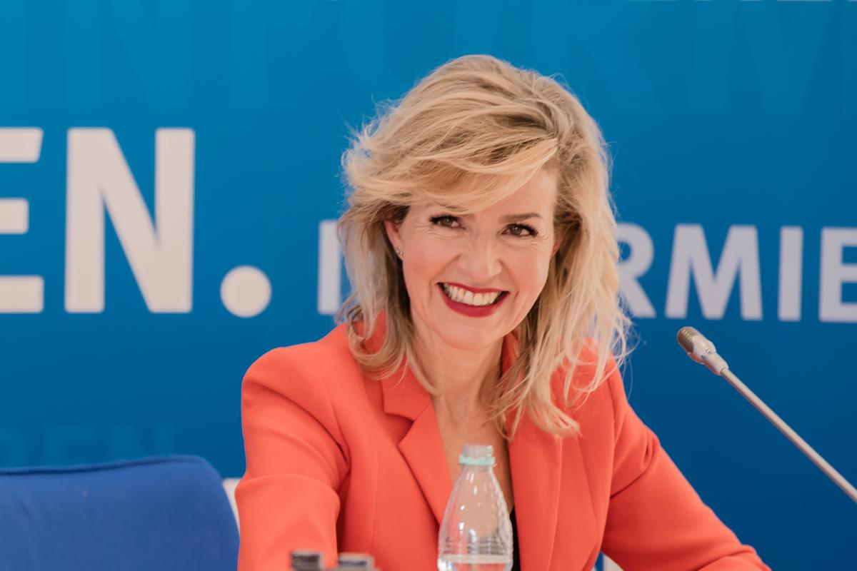 Anne Sophie Mutter, Präsidentin Deutsche Krebshilfe
