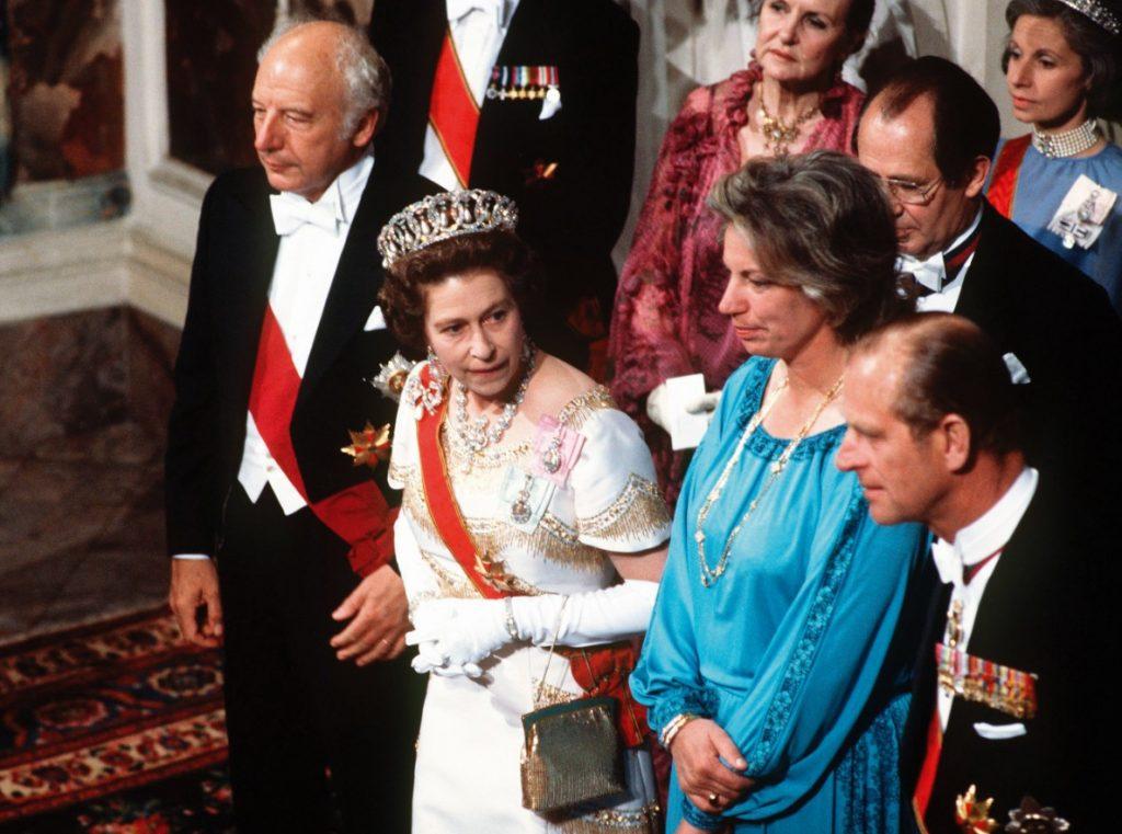 Queen Elisabeth Mildred Scheel und Walter Scheel