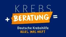 Krebs + Beratung = Deutsche Krebshilfe – Alles, was hilft.