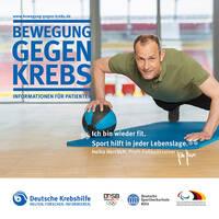 [frei_marker]Broschüre der Deutschen Krebshilfe: Bewegung und Sport bei Krebs