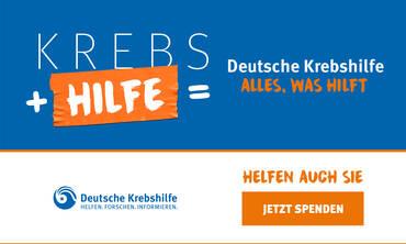 Mit aller Kraft | Deutsche Krebshilfe