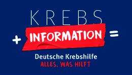 Krebs + Information = Deutsche Krebshilfe – Alles, was hilft.